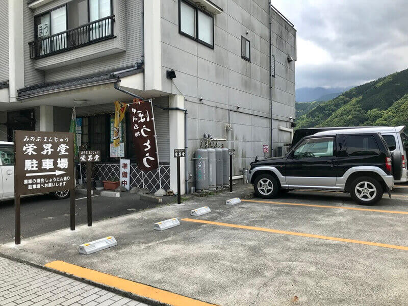 駐車場3台分