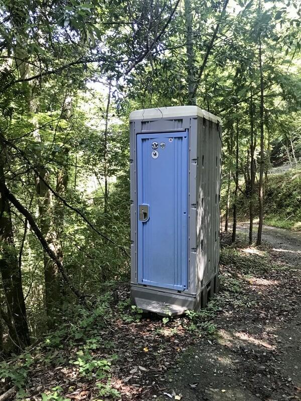 天空エリアのトイレ